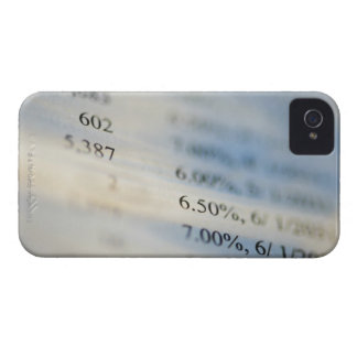 Banking statements iPhone 4 Case-Mate case