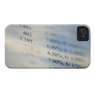Banking statements iPhone 4 Case-Mate cases