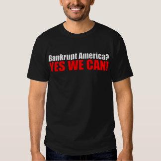 Bankrupt America? Shirts