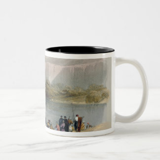 Banks of the Jordan Two-Tone Coffee Mug