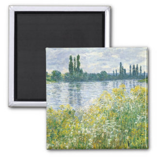 Banks of the Seine, Vetheuil, 1880 (oil Fridge Magnets