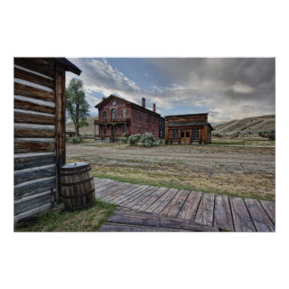 Bannack Ghost Town Mainstreet 2 - Montana Posters