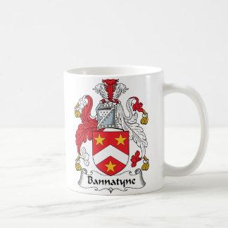 Bannatyne Family Crest Mugs