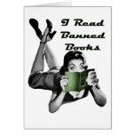 Banned Books Blank Card