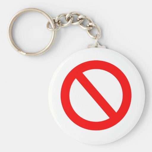 Banned Key Chain
