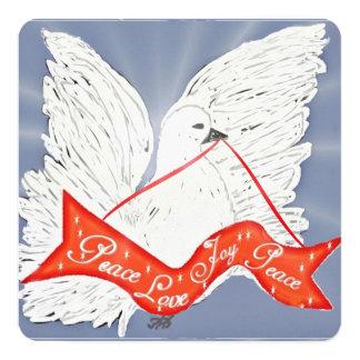 "Banner Dove- Custom 4.25"" x 5.5"" Invitations"