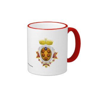 Banner Grand Duchy of Tuscany Mugs