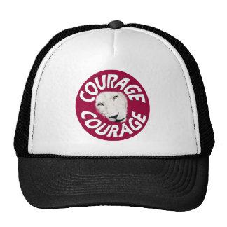 Banner of Courage (Round Red) Trucker Hats