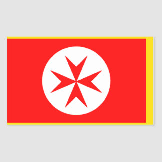 Banner of the Navy Tuscany Medici Rectangle Stickers
