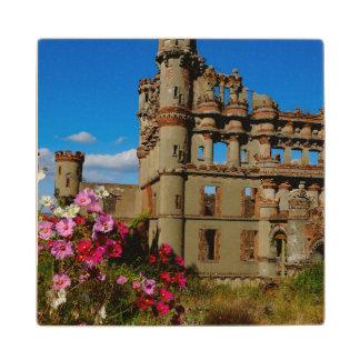 Bannerman's Castle on Bannerman Island Wood Coaster