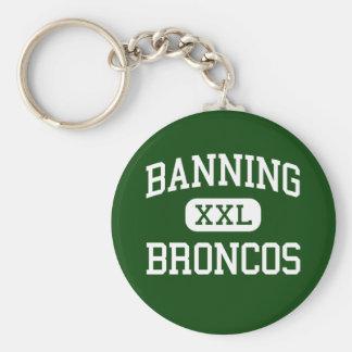 Banning - Broncos - High - Banning California Keychain