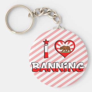 Banning, CA Keychain