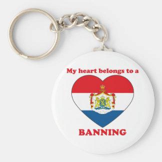 Banning Key Chain