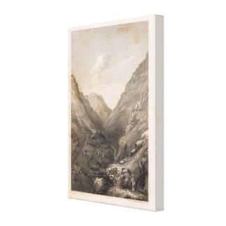 Banos, Peru Canvas Print