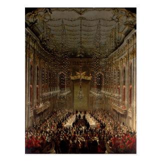 Banquet in the Redoutensaal, Vienna, 1760 Postcard