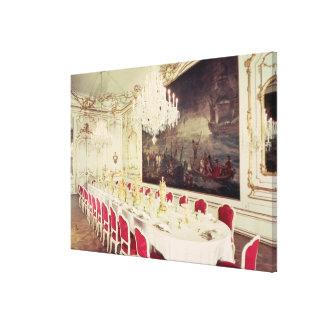 Banqueting Room, design devised by Nikolaus Canvas Print