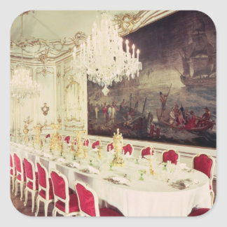 Banqueting Room, design devised by Nikolaus Square Sticker
