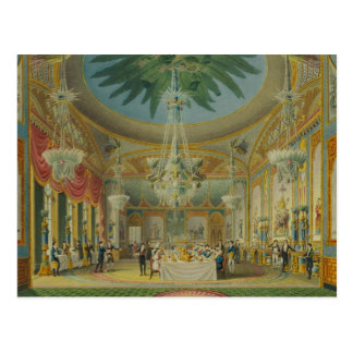 Banqueting Room from Views of Royal Pavilion Postcard