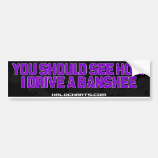 Banshee Bumper Sticker