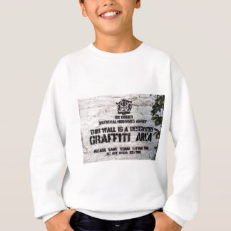 Bansky Designated Graffiti Area Sweatshirt
