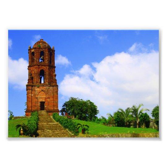 Bantay Bell Tower Photo Print