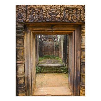 Banteay Srei Temple, Angkor, Siem Reap Province, Postcard