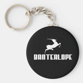 Banterlope Key Ring