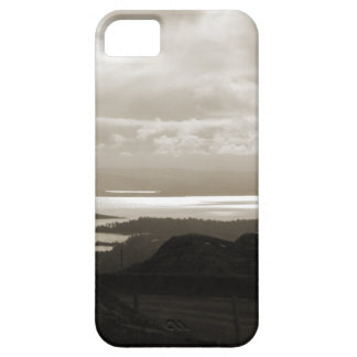 Bantry Bay from Tunnel Road Ireland. Sepia . iPhone 5 Case
