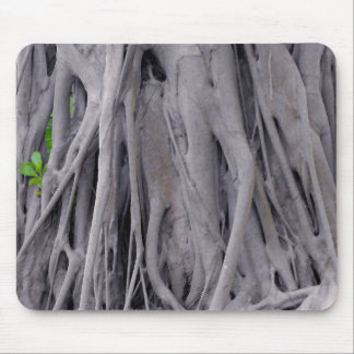 Banyan Tree Trunk Mouse Pad