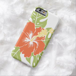 Banzai Beach Hawaiian Hibiscus Barely There iPhone 6 Case