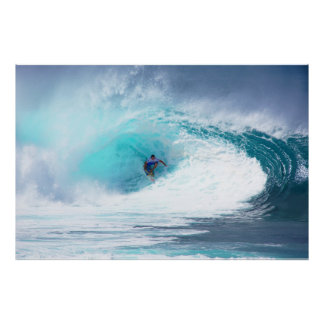 Banzai Pipeline Reef Poster