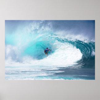Banzai Pipeline Reef Print