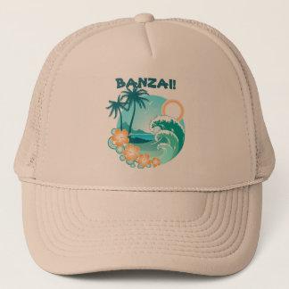 Banzai Surfing Trucker Hat