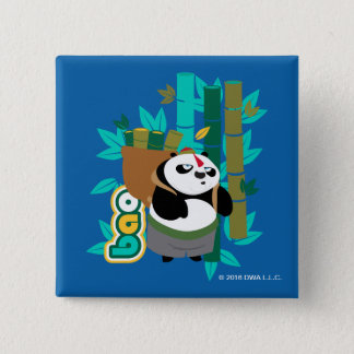 Bao Panda 15 Cm Square Badge