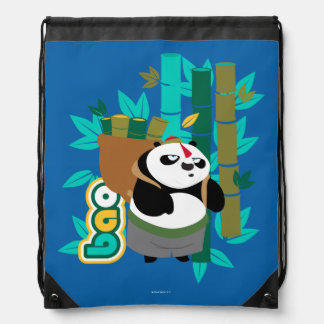 Bao Panda Drawstring Bag