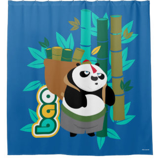 Bao Panda Shower Curtain