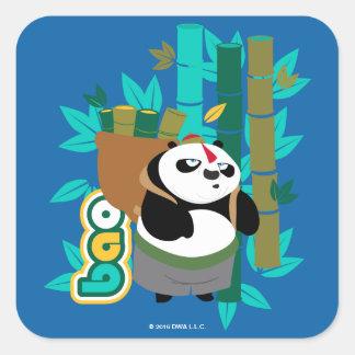 Bao Panda Square Sticker