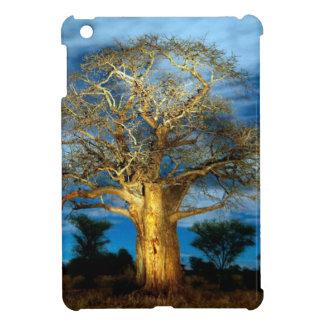Baobab (Adansonia) Tree Light Up By The Moon iPad Mini Case
