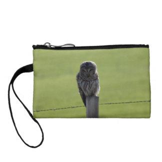 BAOW Barred Owl Change Purse
