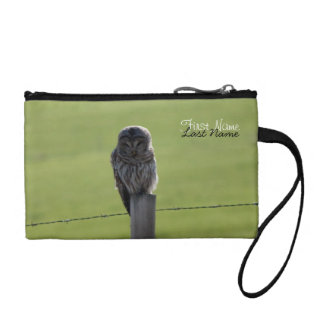 BAOW Barred Owl Coin Wallet