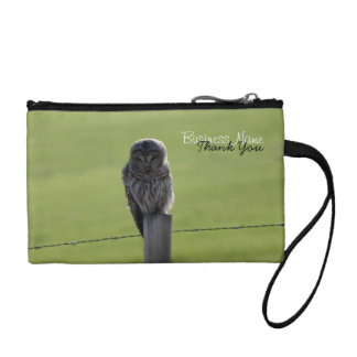 BAOW Barred Owl Coin Wallets