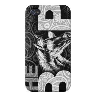 BAP iPhone 4 Case (Black Paisley)