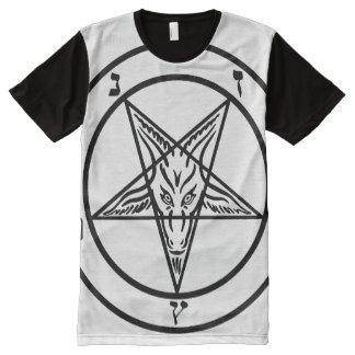 BAPHOMET PENTAGRAM B All-Over PRINT T-Shirt