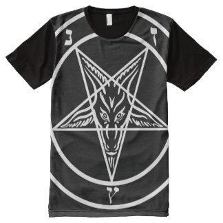 BAPHOMET PENTAGRAM W All-Over PRINT T-Shirt