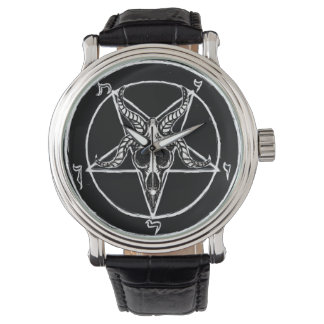 Baphomet pentagram watch