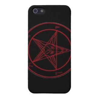 Baphomet Red iPhone 5 Cover