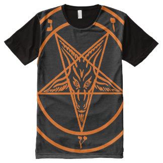 BAPHOMETH PENTAGRAM O All-Over PRINT T-Shirt