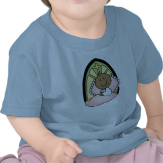 Baptism African American Baby Girl T Shirts