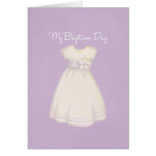 Baptism Card Girl