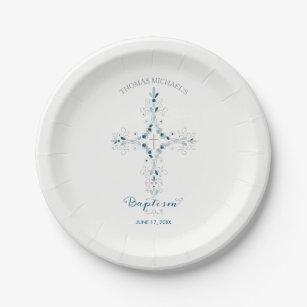 Baptism Christening Paper Plates - Custom Plate  sc 1 st  Zazzle & Baptism Plates   Zazzle.co.uk